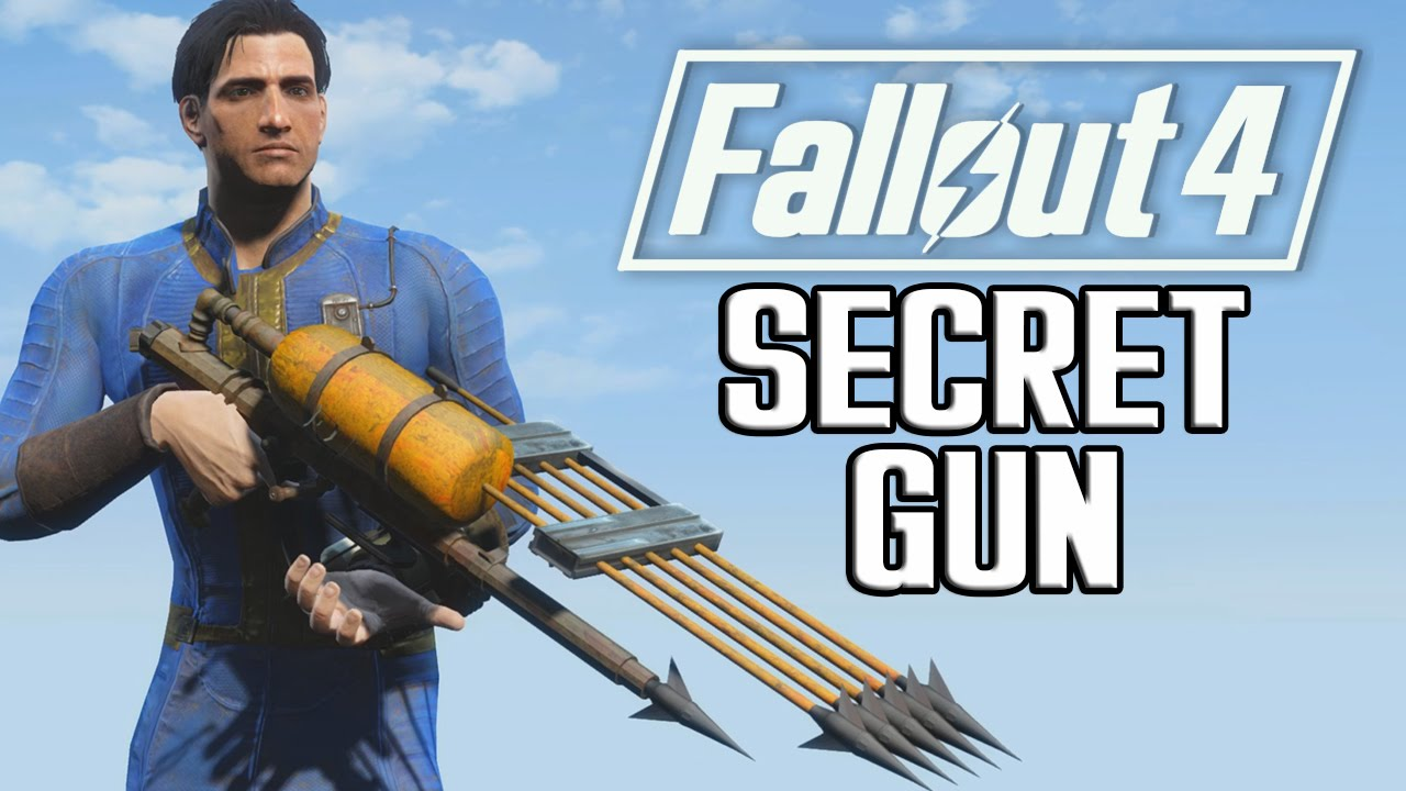 """Die geheime Waffe in """"Fallout 4"""""""