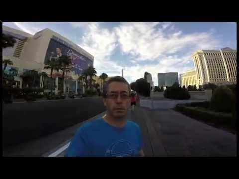 Ein irischer Vater filmt seinen gesamten Trip nach Las Vegas mit der Kamera falsch herum