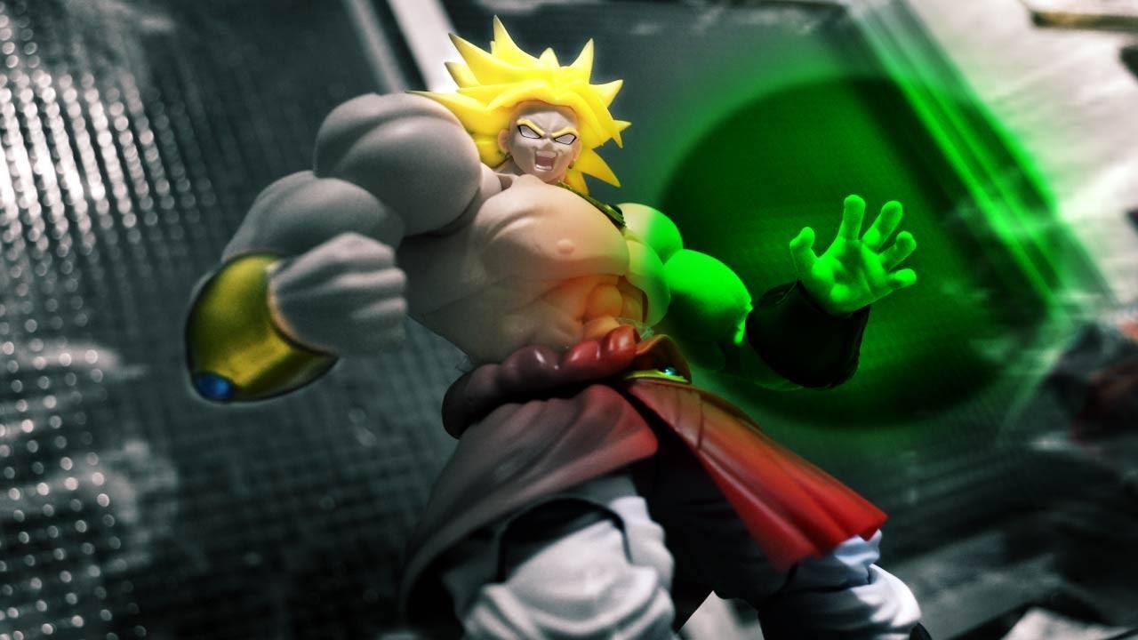 Goku gegen Broly in einem Stop-Motion-Film, der eigentlich ein Actionfiguren-Review ist
