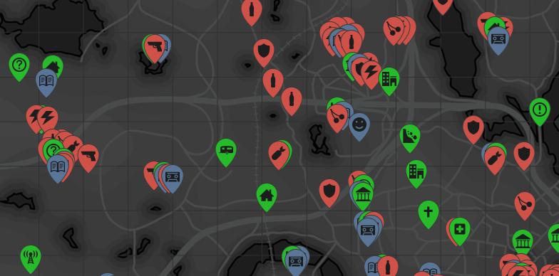 """Ihr braucht übrigens diese interaktive Karte für """"Fallout 4"""""""