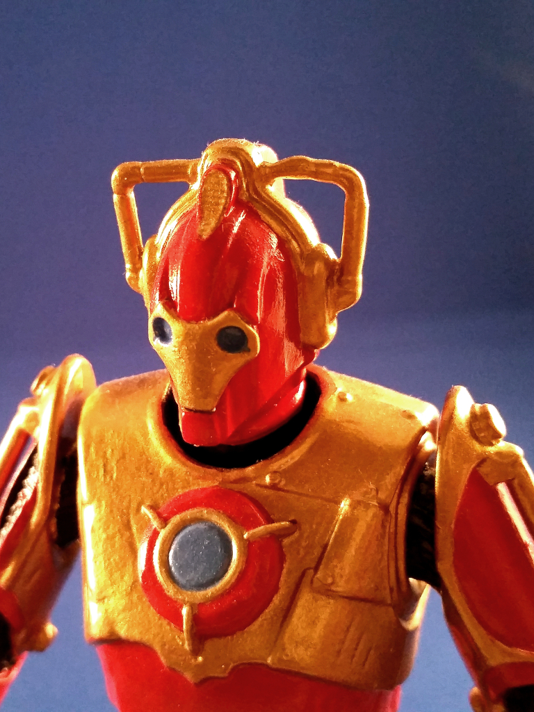 Meine erste Custom Action Figure: Iron-Cyber-Man