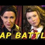 Katniss und Hermine im Princess Rap Battle
