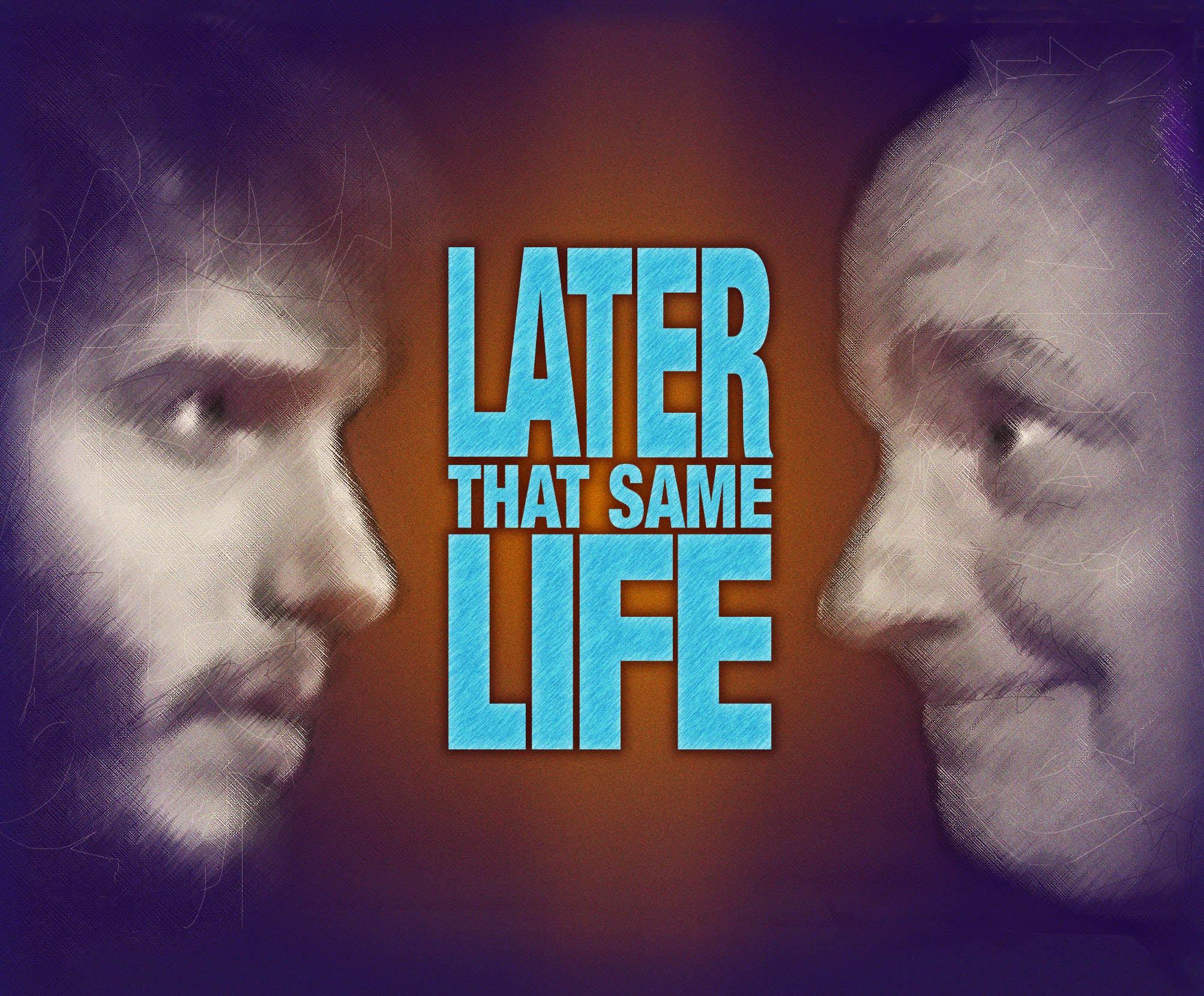"""""""Later that same life"""" – Ein 56-jähriger wird von seinem 18-jährigen Ich interviewt"""