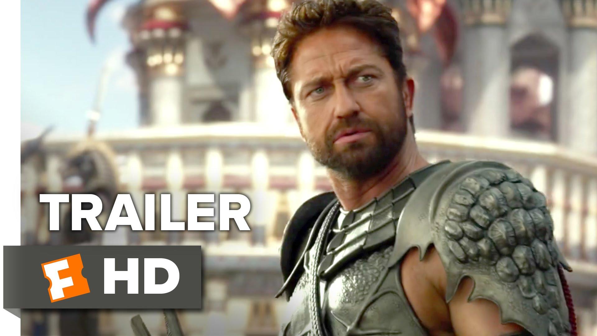 """Schaut nur, wie kacke der Trailer zu """"Gods of Egypt"""" ist"""