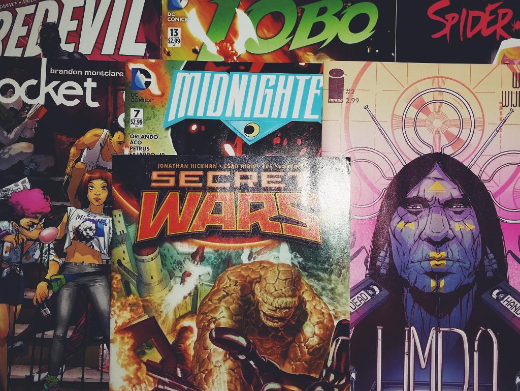 Mein Comic Haul vom 09. Dezember 2015 (Daredevil, Rocket Girl, Secret Wars, Limbo, Midnighter uvm)