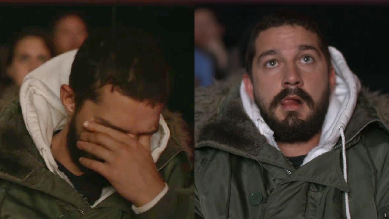 Aber wie reagierte Shia LaBeouf nun bei welchen Szenen? #ALLMYMOVIES