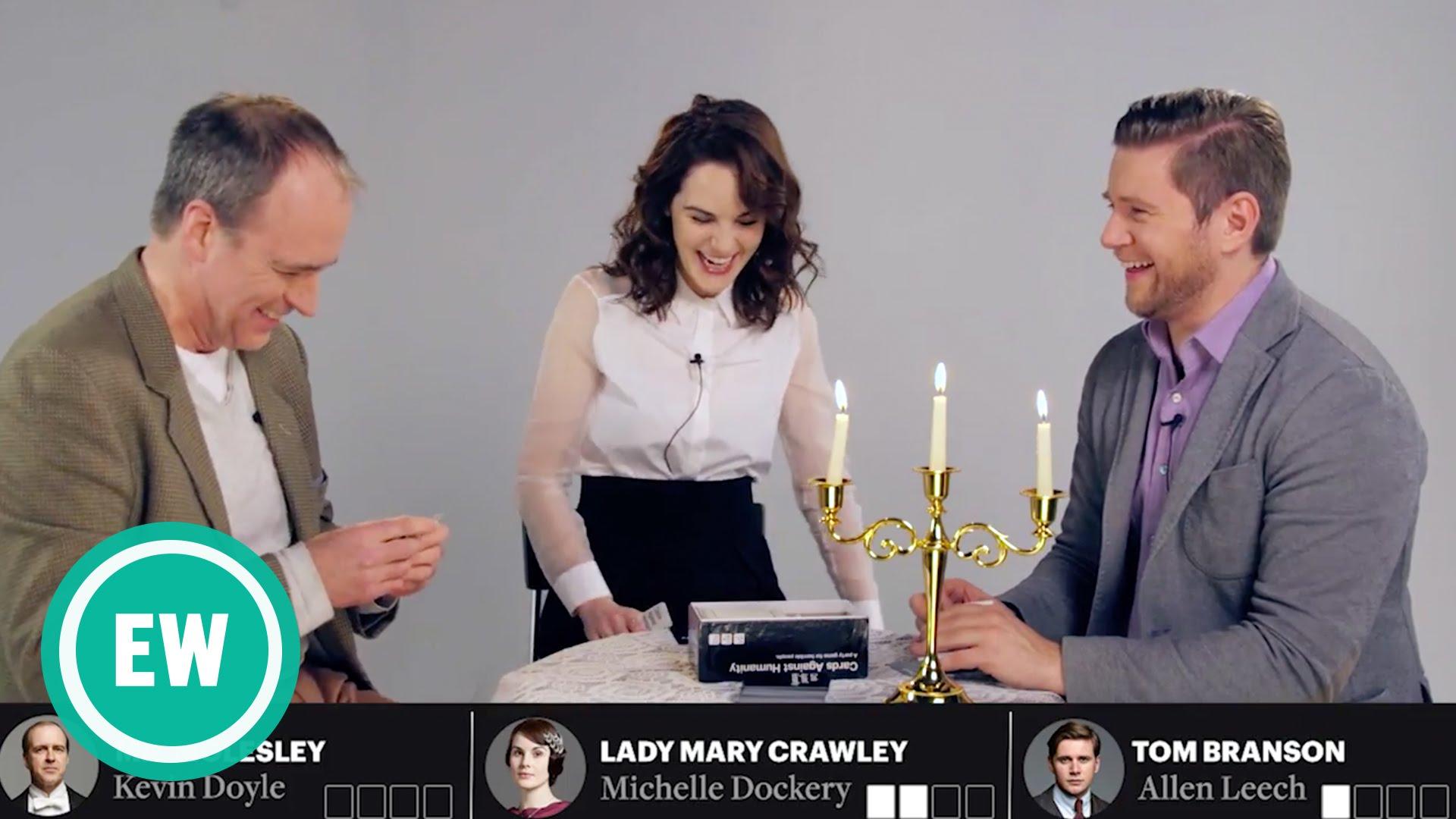 """Das Cast von """"Downton Abbey"""" spielt """"Cards Against Humanity"""""""