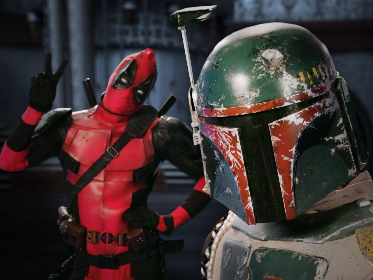 EPIC RAP BATTLES OF HISTORY: Bobba Fett vs. Deadpool