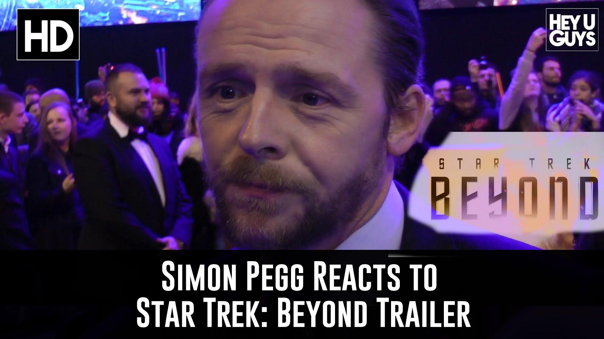 "Es ist okay, denn Simon Pegg fand den Trailer zu ""STAR TREK BEYOND"" auch kacke"