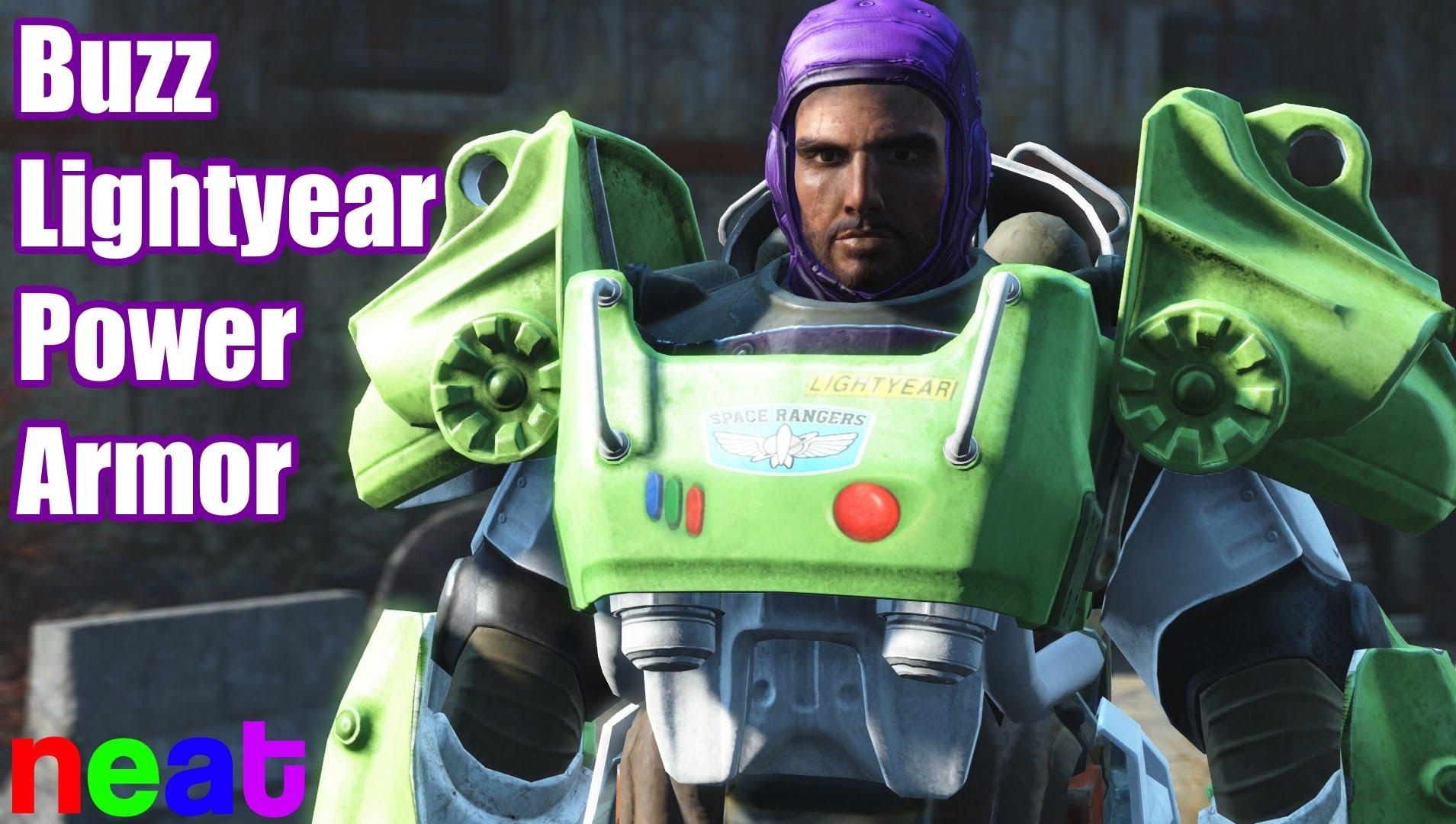 """""""Fallout 4"""": Dank Mod wird Paladin Danse zu Buzz Lightyear"""