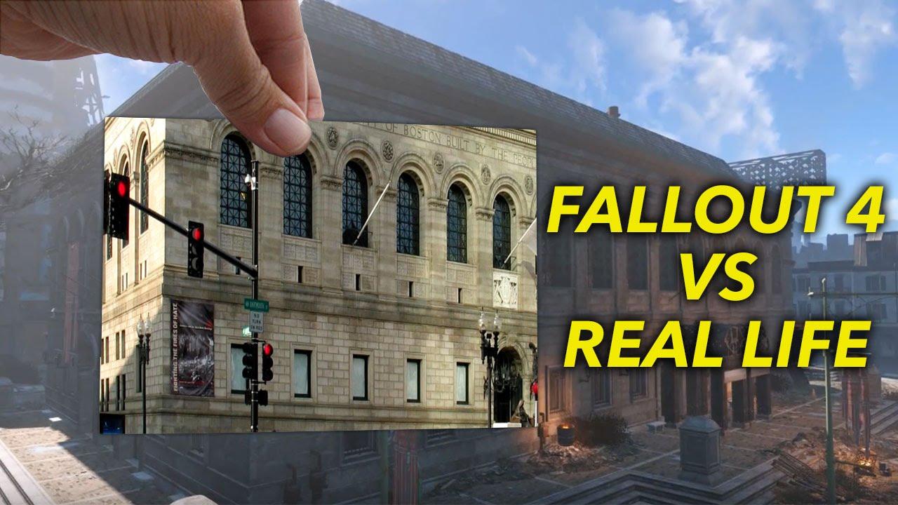 """""""Fallout 4"""": Die echten Vorbilder der Sehenswürdigkeiten im Spiel"""