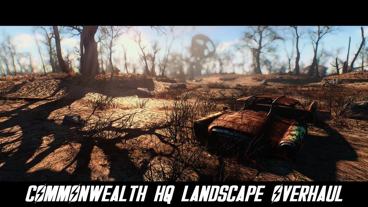 """""""Fallout 4"""": Eine Grafik-Mod, die das postapokalyptische Commonwealth noch schöner aussehen lässt!"""