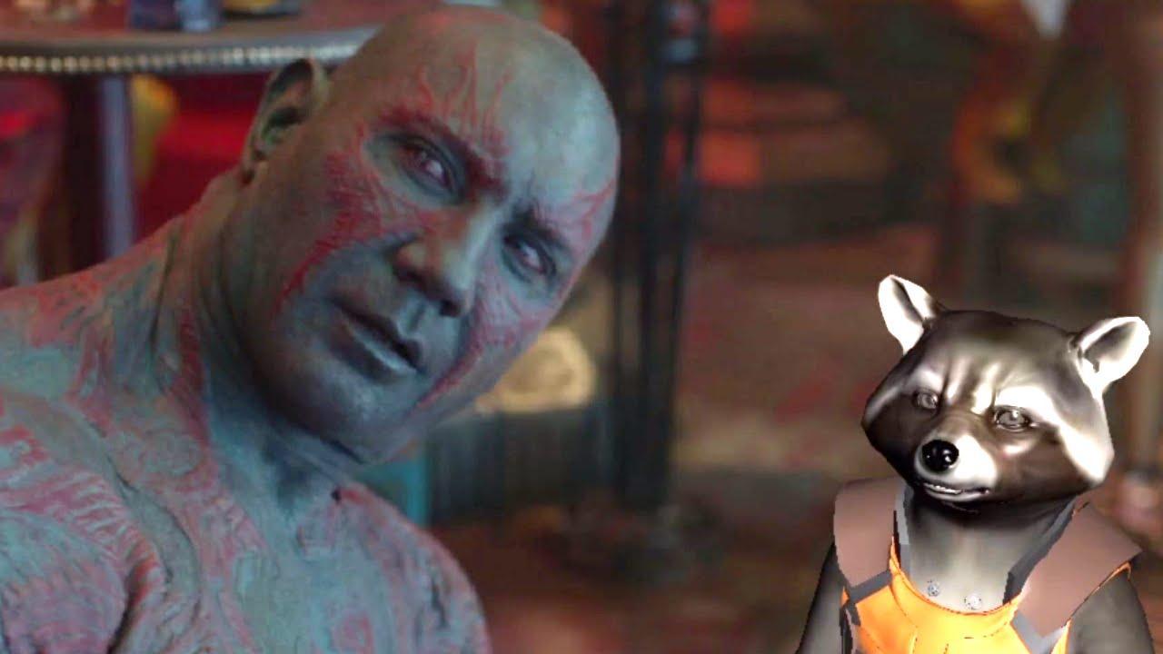 """In einer gelöschten Szene der """"Guardians of the Galaxy"""" erzählt Drax die Story seiner Tattoos"""