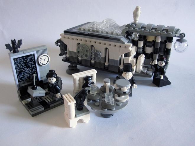 """Das """"Ada Lovelace & Charles Babbage""""-LEGO-Set ist auch gleich ein Raspberry-Pi-Gehäuse"""