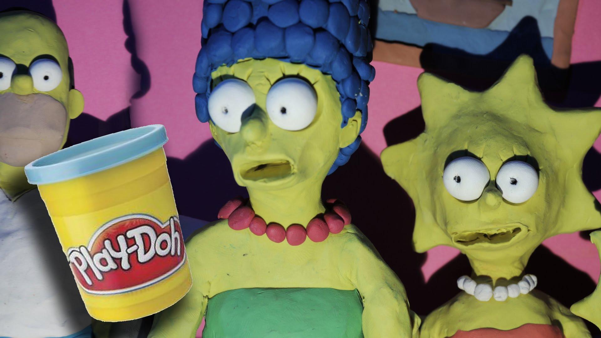 Lee Hardcastle hat einen sehr, sehr blutigen Simpsons-Couch-Gag geknetet (NSFW – GORE)