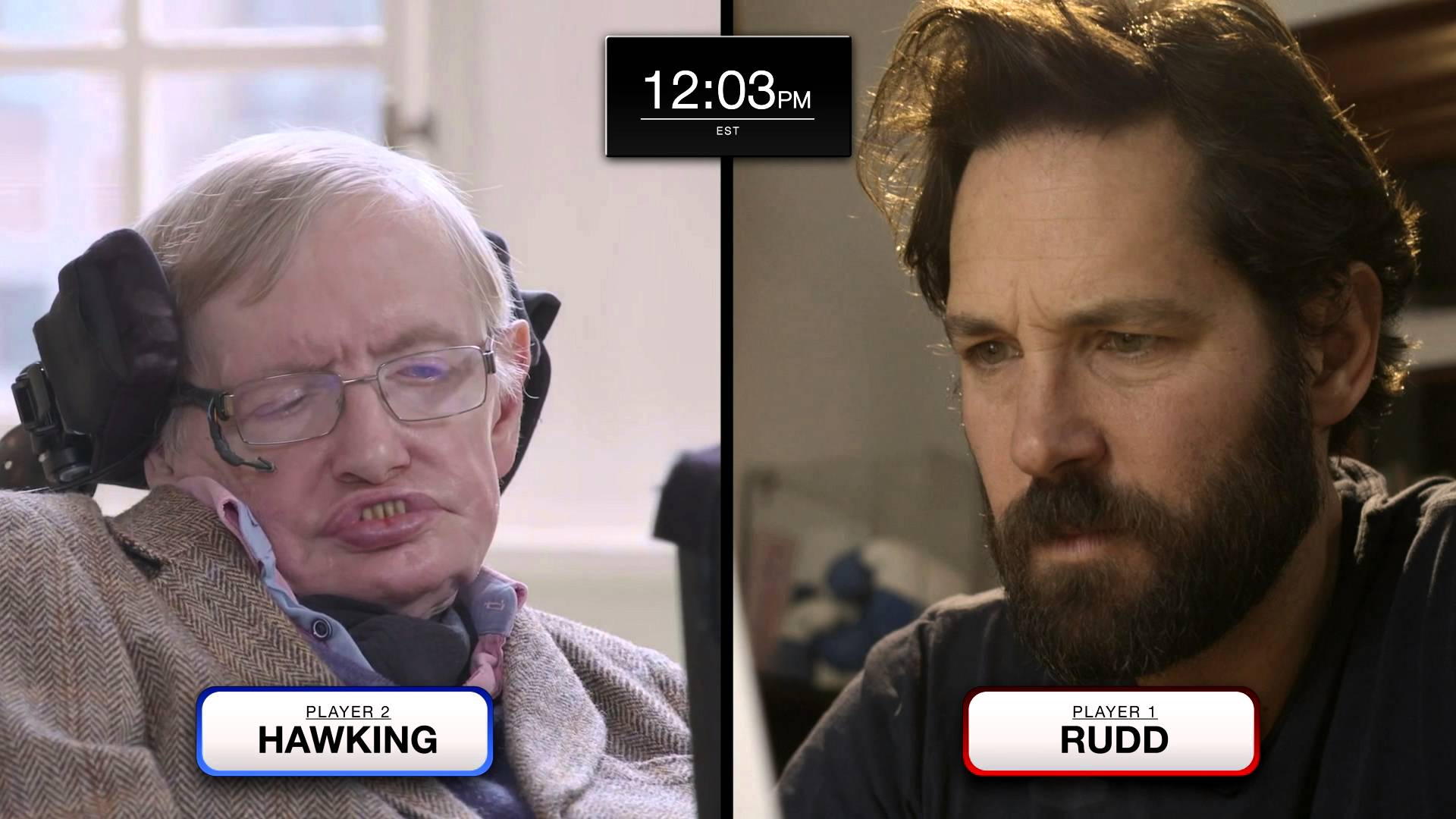 """""""Anyone Can Quantum"""": Keanu Reeves kommentiert das Quantum Chess Match von Stephen Hawking und Paul Rudd"""