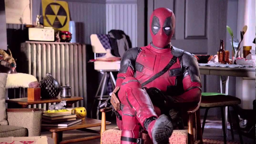 Deadpool will, dass wir uns heute Nacht anfassen und an Krebs denken