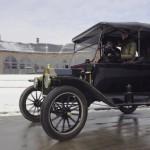 Der Ford Model T fährt sich offenbar schwieriger, als man denkt