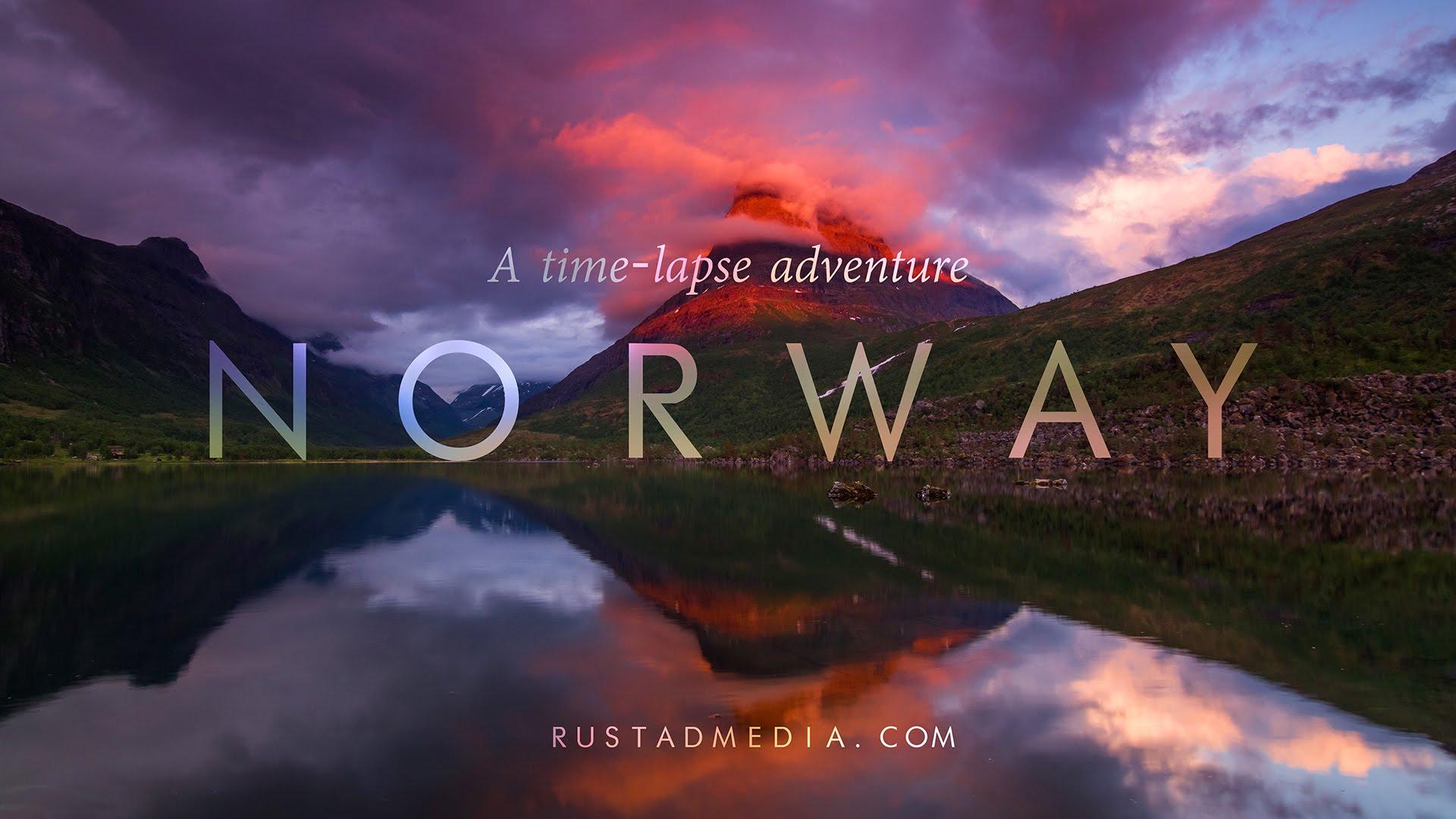 Die Schönheit Norwegens in 4K und Zeitraffer