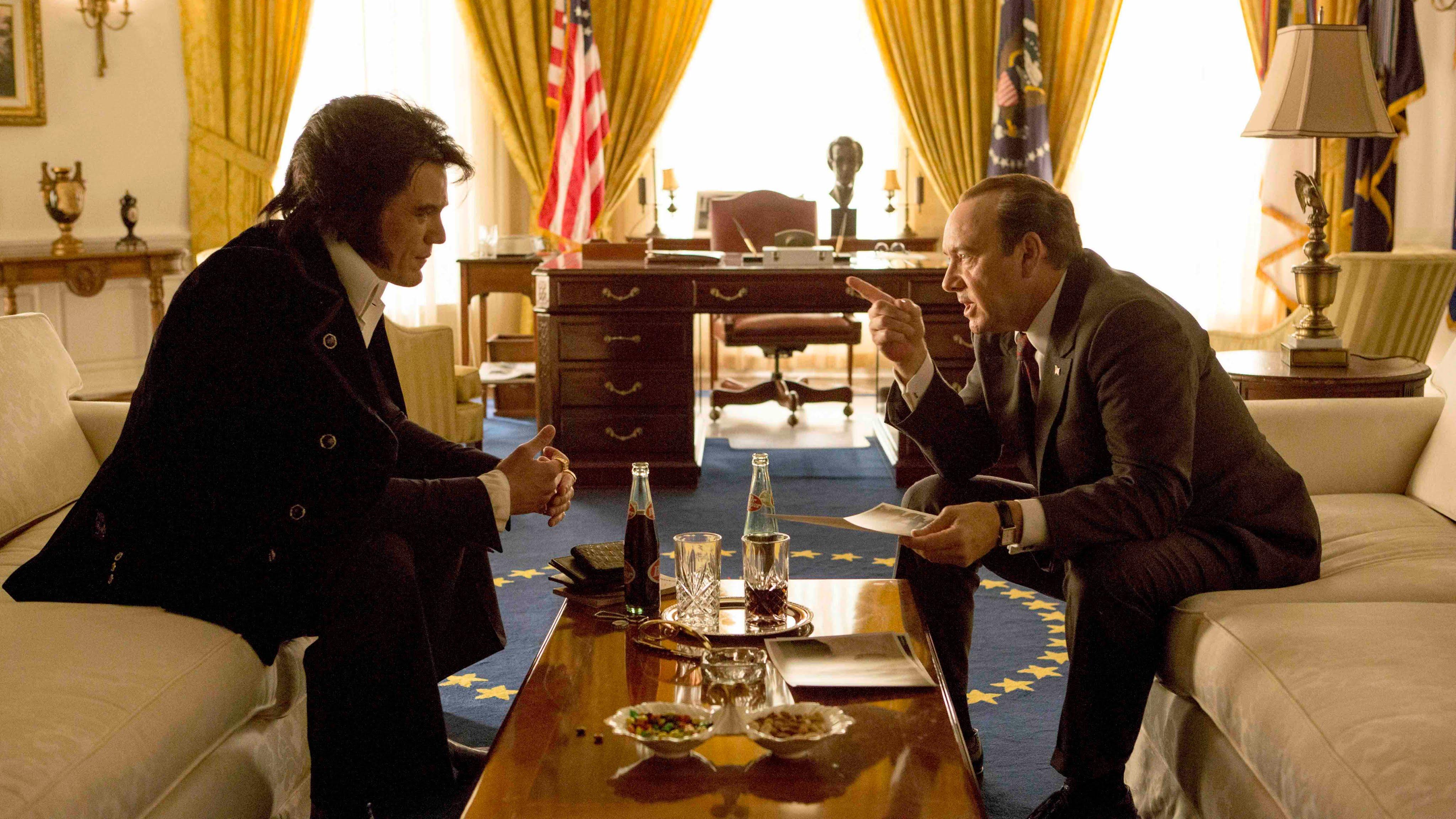 """""""Elvis & Nixon"""" in einem Filmtrailer"""