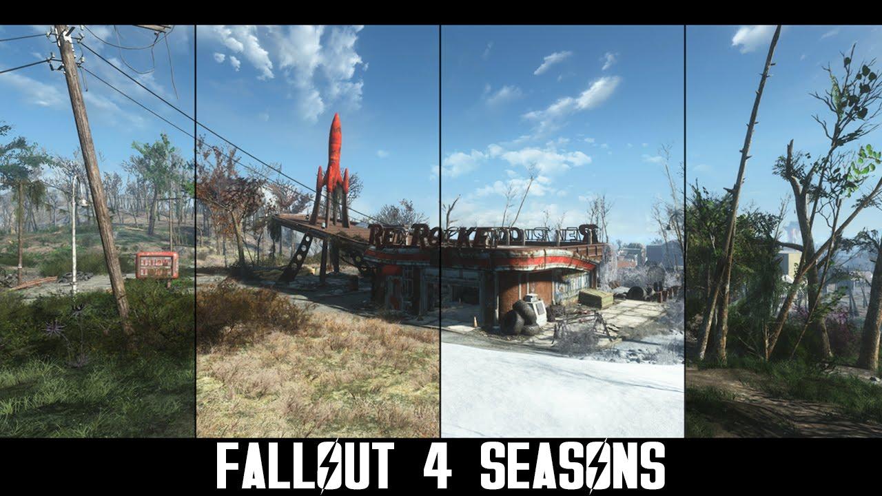 """""""Fallout 4"""": Eine Mod gibt euch echte Jahreszeiten!"""