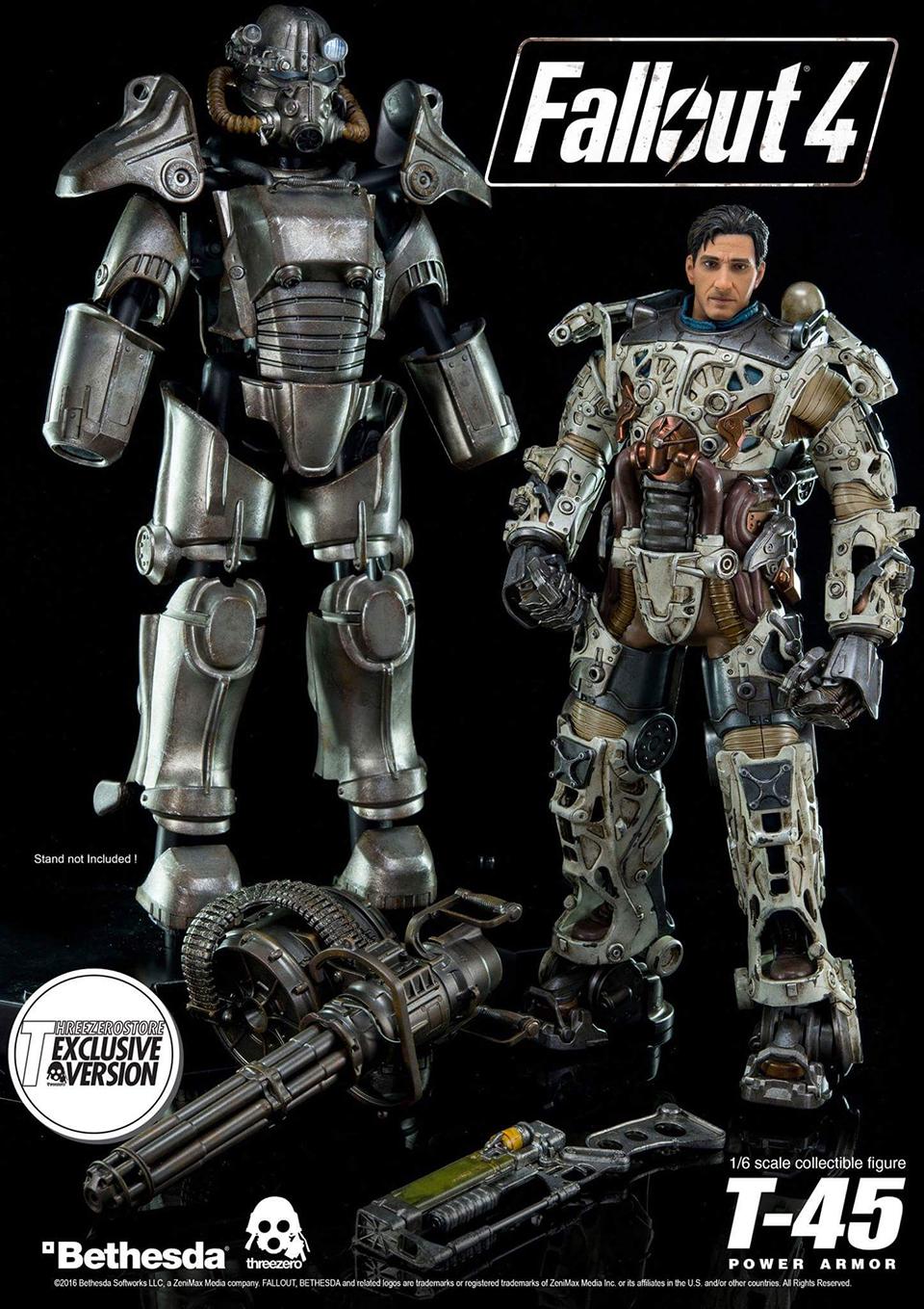 """""""Fallout 4: Threezero veröffentlicht eine sehr beindruckende Power Armor Actionfigur"""