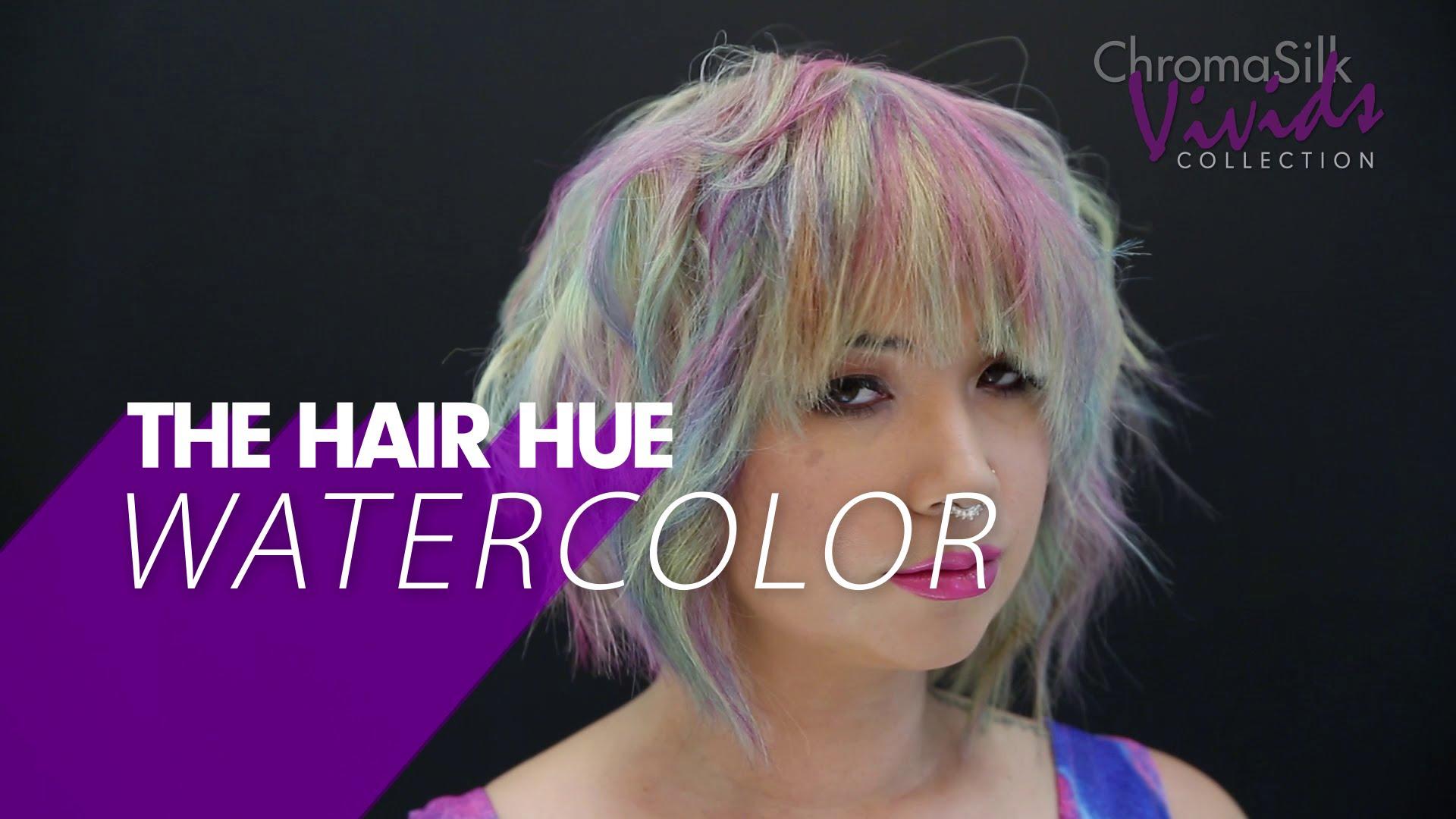 Hallo Ladies: So färbt man die Haare in diesen Watercolor Look