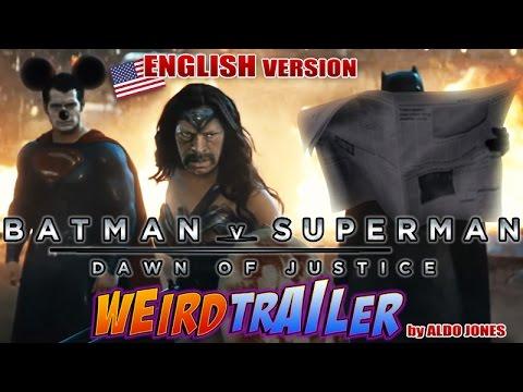 """Jemand hat den Trailer von """"Batman V Superman: Dawn of Justice"""" mit allerlei Unsinn aufgewertet!"""