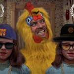 """""""The Chickening"""" ist """"The Shining"""" mit Hühnchen. So viel Hühnchen. Überall Hühnchen. Hühnchen."""
