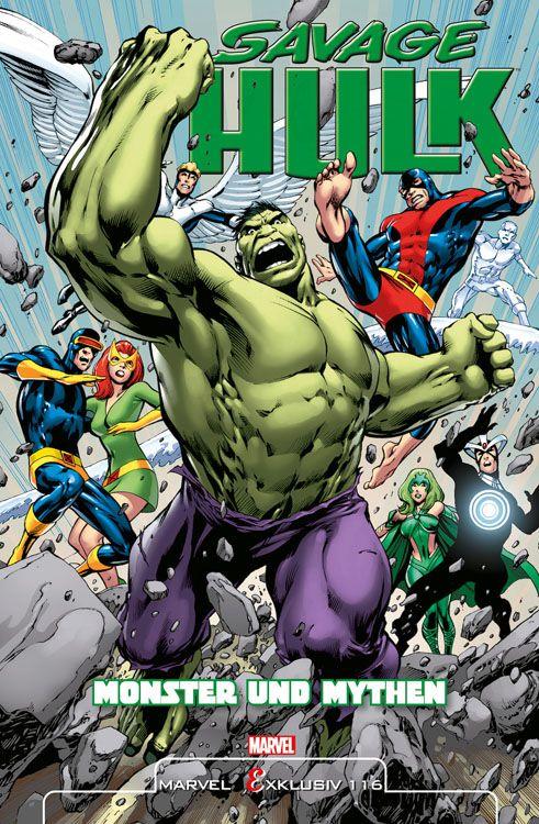 "Comicreview: ""Savage Hulk – Monster & Mythen"""