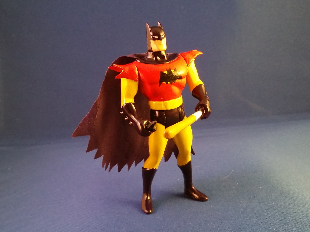 Meine dritte Custom Action Figure: Batman of Zur Enh Arrh