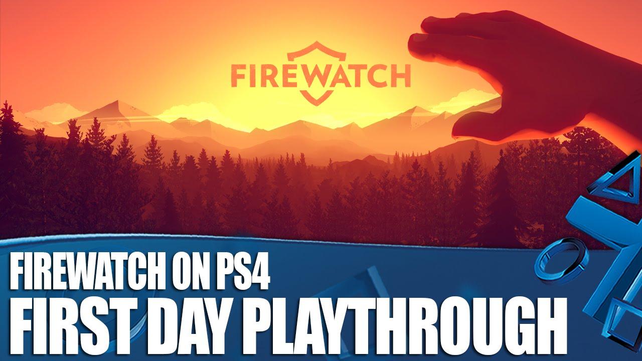 """Die erste halbe Stunde (ein Ingame-Tag) von """"Firewatch"""""""