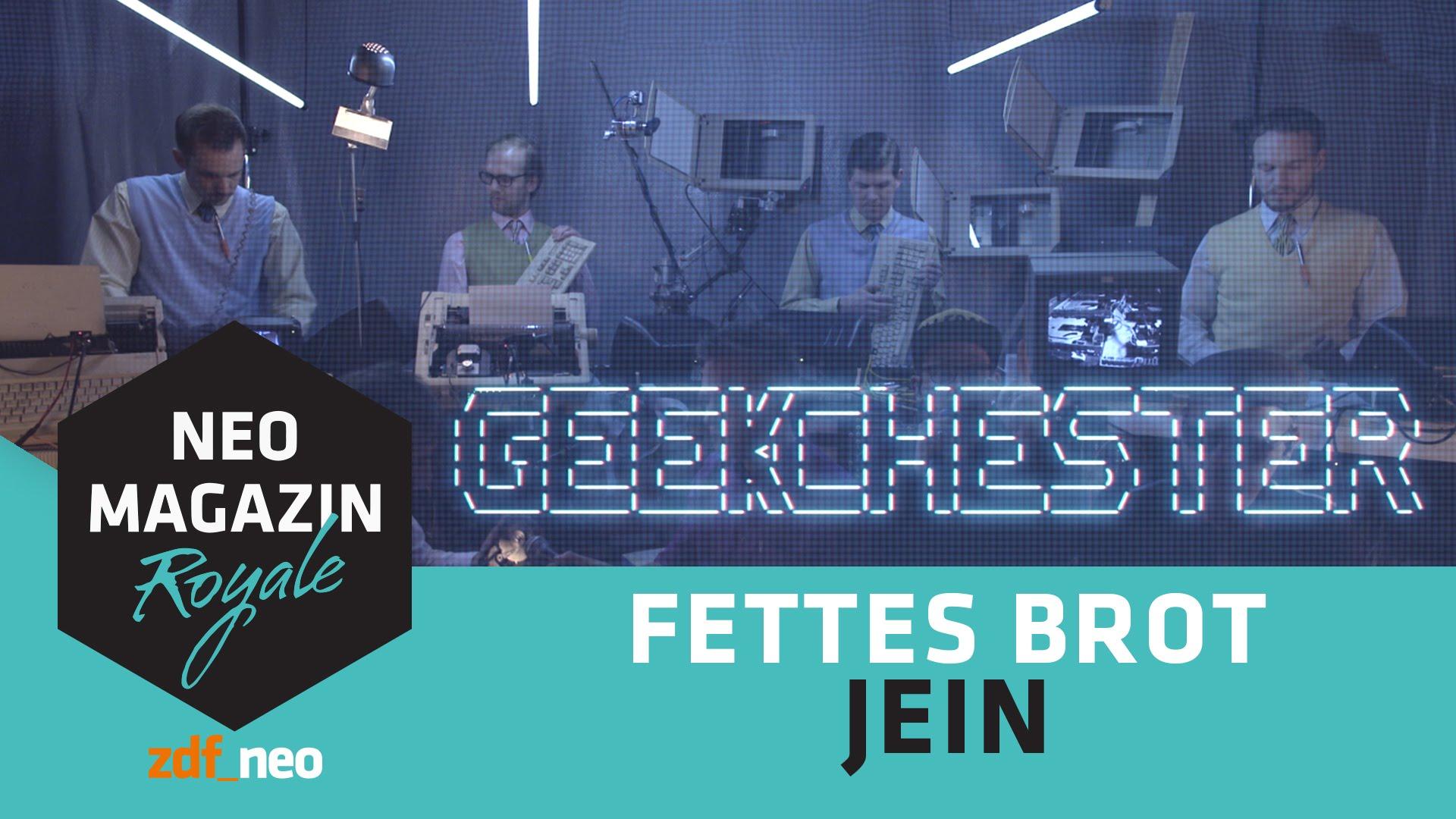 """Fettes Brot feat. Geekchester spielen für NEO MAGAZIN ROYALE """"Jein"""" auf alter Hardware"""