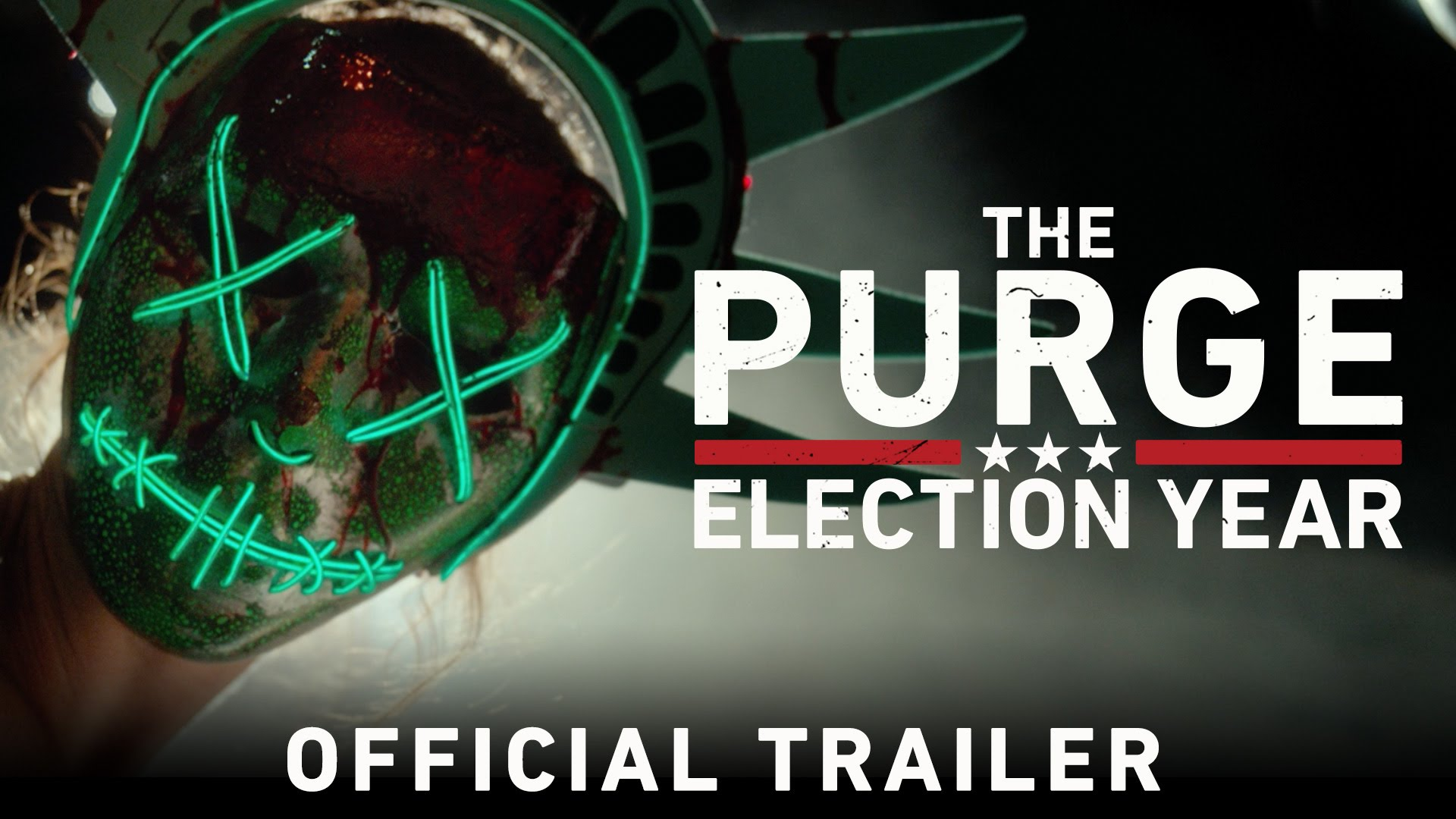 """Im Trailer zu """"The Purge: Election Year"""" will eine Senatorin das muntere Töten endlich beenden"""