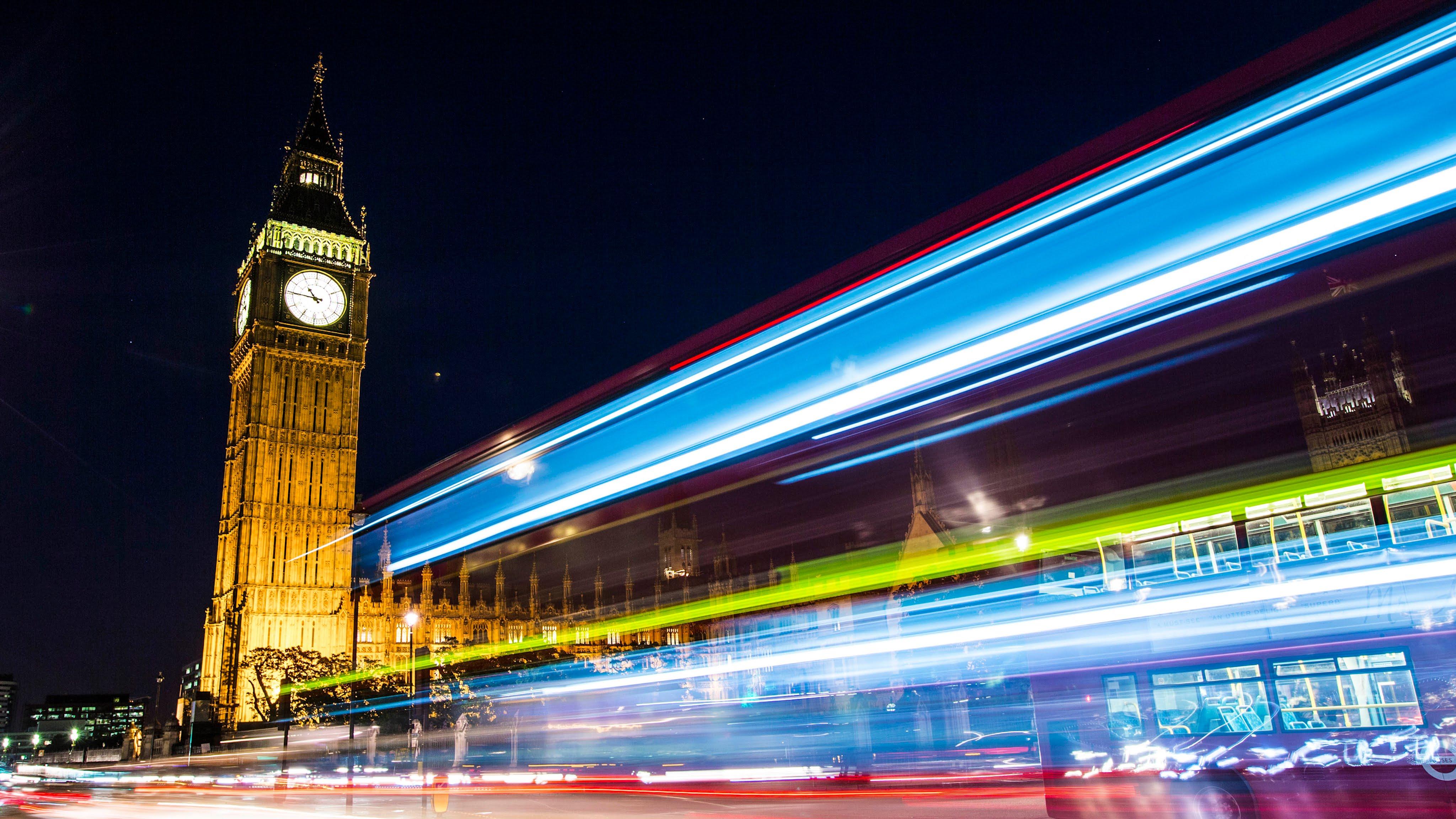 London im Zeitraffer und 4K