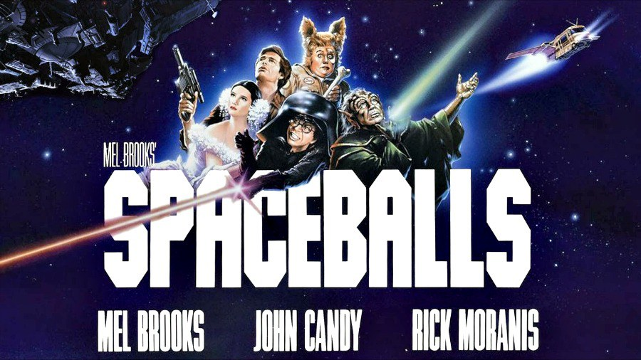 "In New York sind mysteriöse Poster zu ""Spaceballs: The Search For More Money"" aufgetaucht"