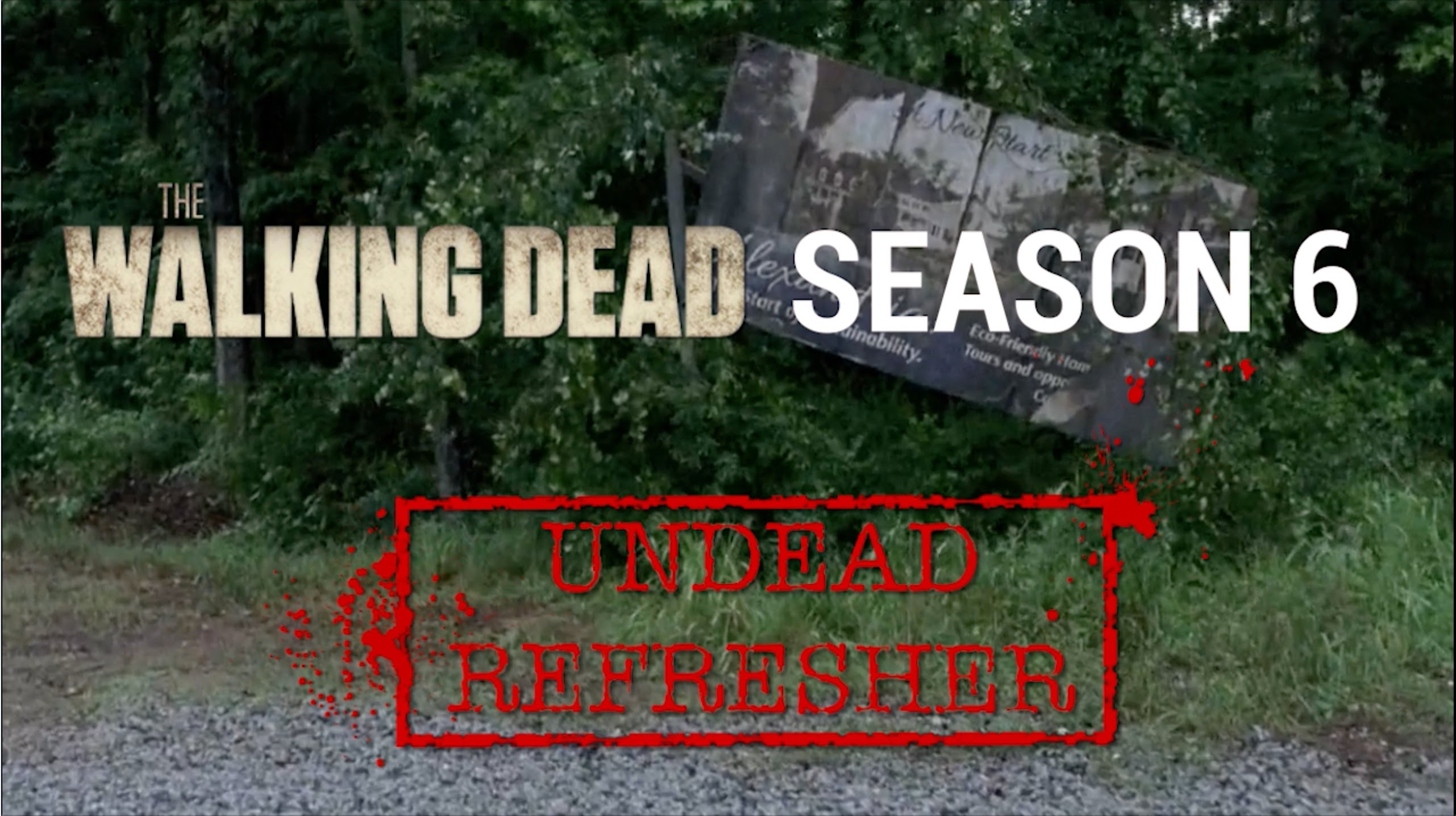 """""""The Walking Dead"""": Ein Video hilft euch, die erste Hälfte der sechsen Staffel aufzufrischen"""