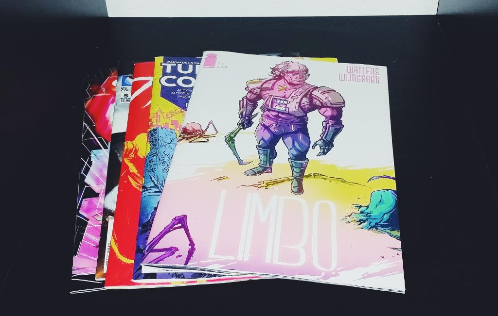 Mein Comic Haul vom 16.03.2016 (Huck, Limbo, Turncoat, Spider-Gwen, American Alien)