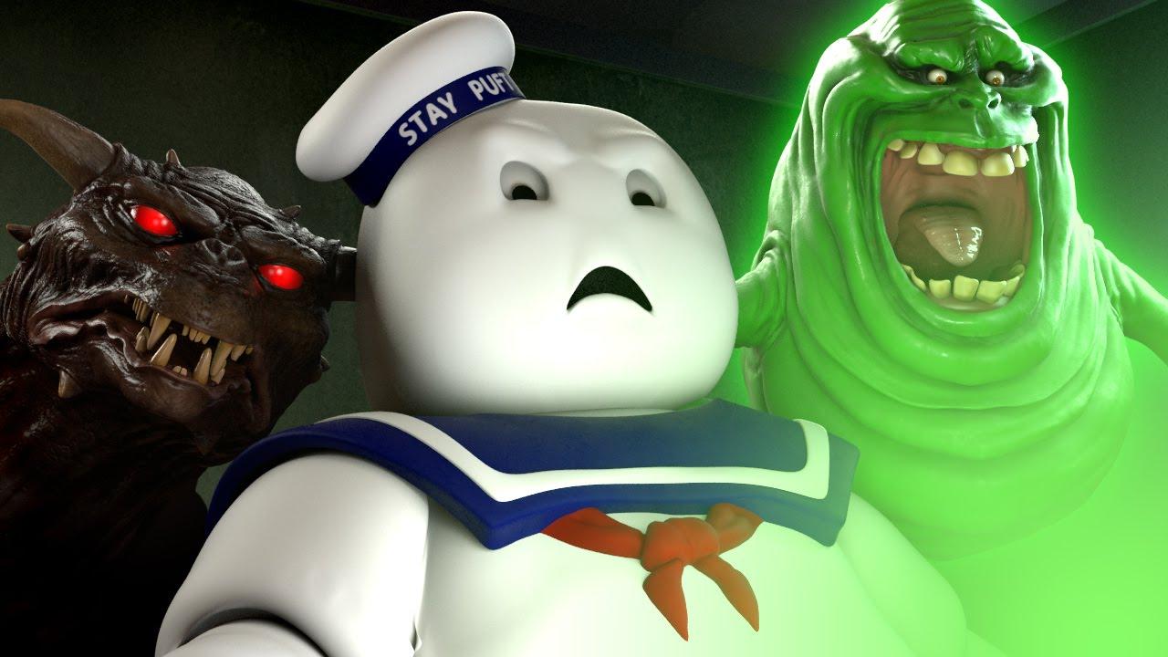 """Der Stay Puft Marshmallow Man schaut den Trailer zu den """"Ghostbusters"""" (GORE?)"""