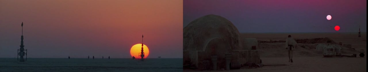 """Die filmischen Parallelen von """"Star Wars"""" Episode IV und VII"""