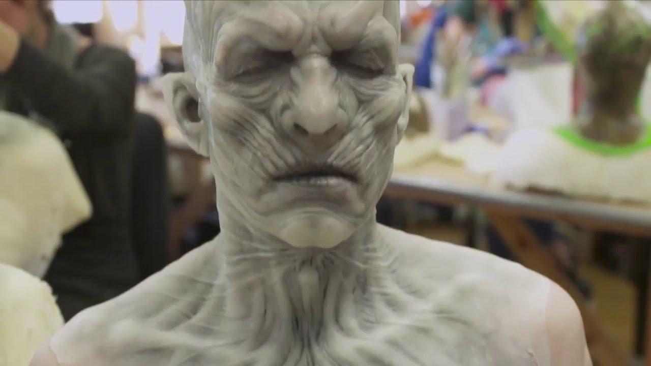 """""""Game of Thrones"""": Eine Featurette stellt uns die Prothesen und White Walker vor"""