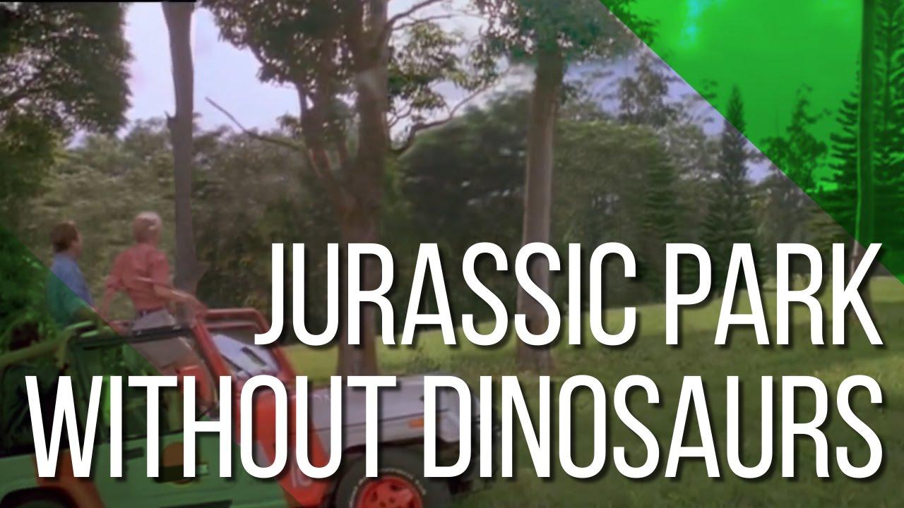 """""""Jurassic Park"""" ist ohne Dinosaurier ja auch nur """"Park"""""""