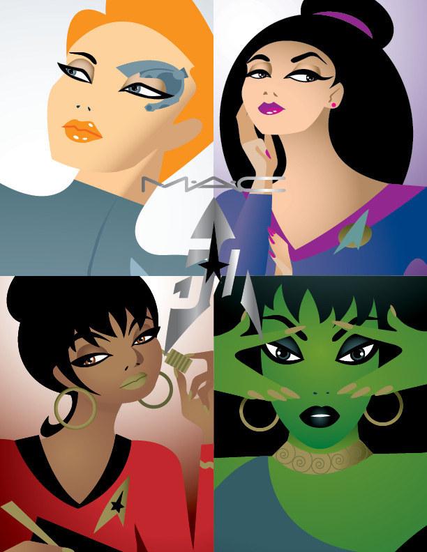 """""""Star Trek"""" und MAC Cosmetics kooperieren zum 50. Jubiläum der Serie"""