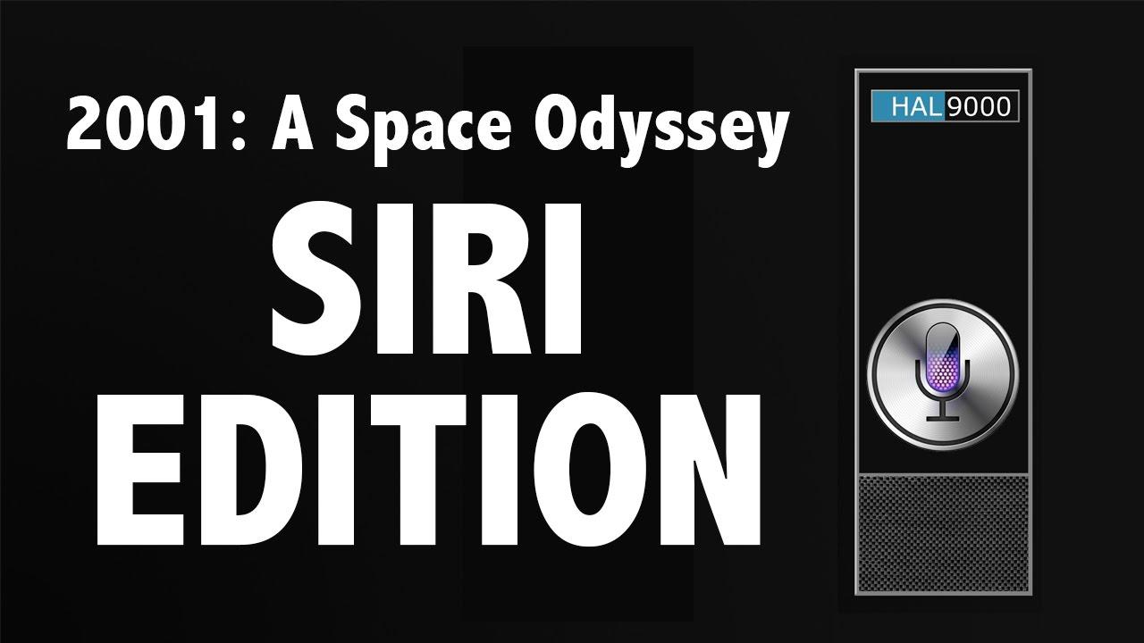 """""""2001: A Space Odyssey"""" mit Siri"""