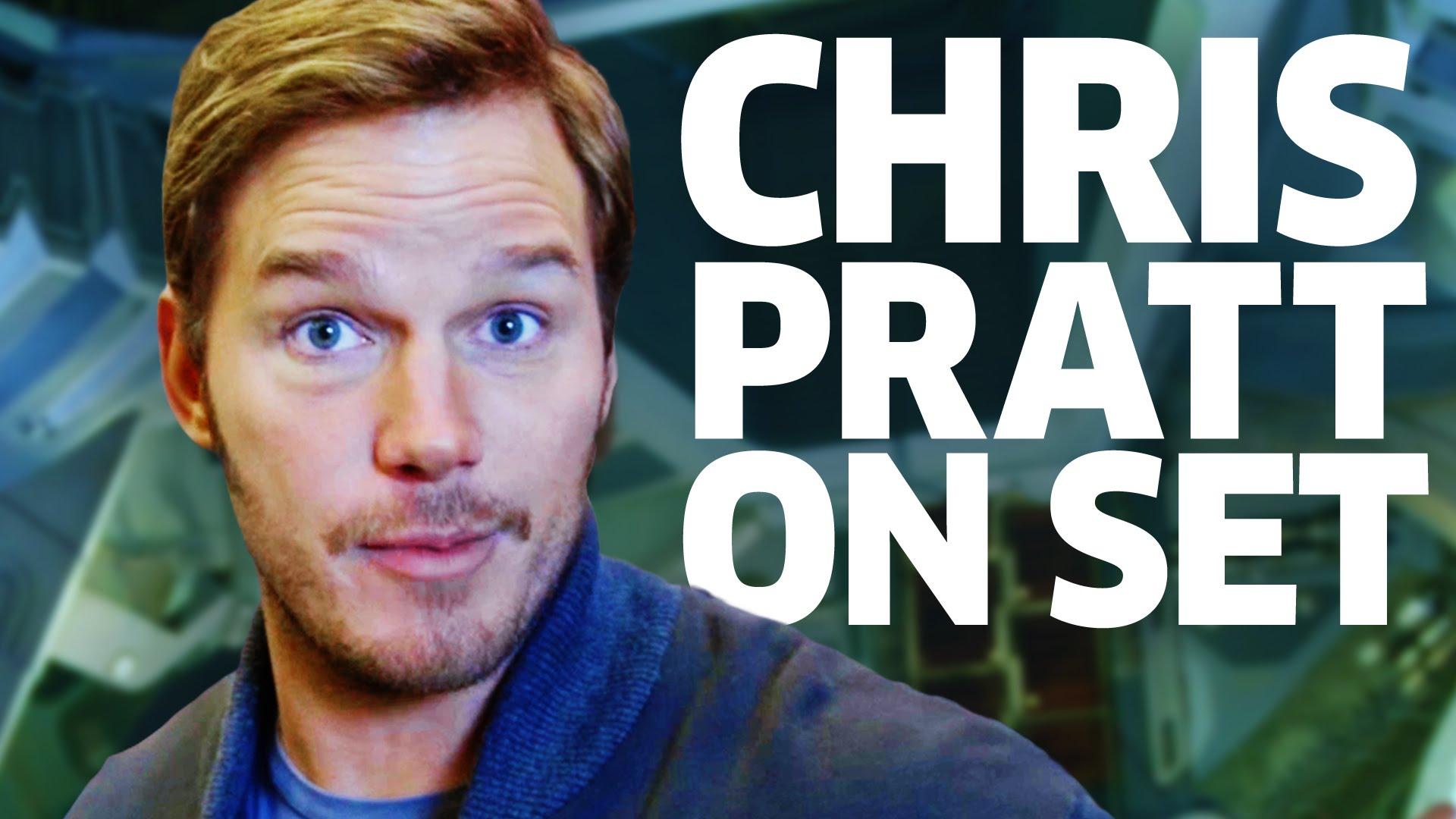 """Chris Pratt zeigt uns noch mehr von Set von """"Guardians of the Galaxy Vol. 2"""""""