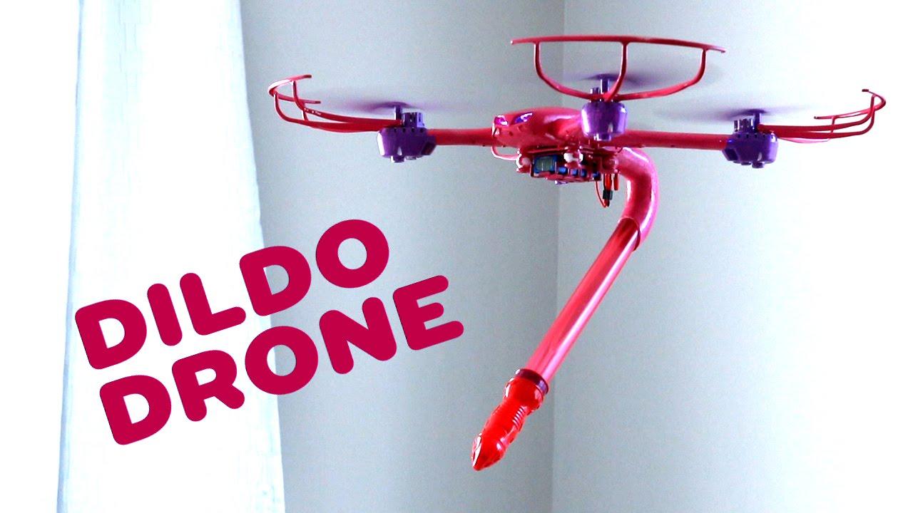 Die Dildo Drone ist eine Drone mit Dildo dran (NSFW)