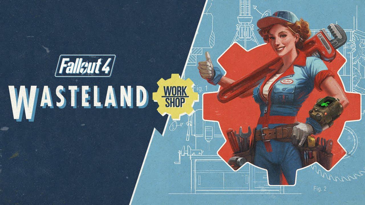 """""""Fallout 4"""": Der Trailer zum neusten DLC """"Wasteland Workshop"""""""