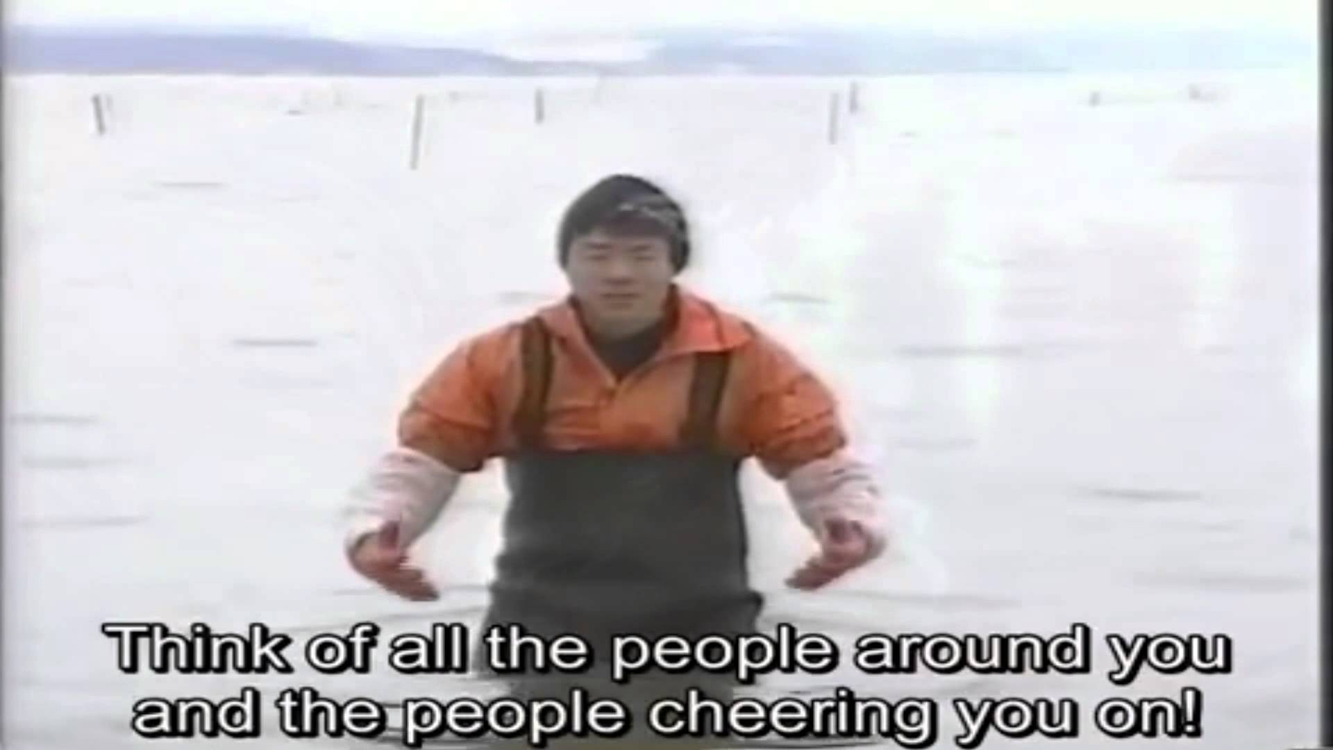 Japanese fisherman will never stop believing in you