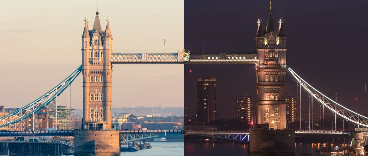 London: Day and Night