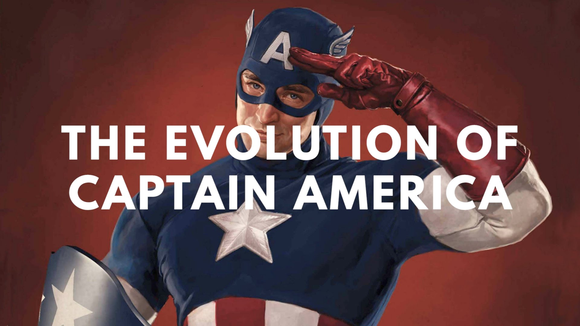 """The Evolution of Captain America in Television & Film"" von 1944 bis heute"
